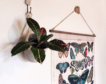 Earthy Decor / Boho Decor / wall hanging / accent decor