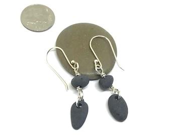 Beach Pebble Earrings