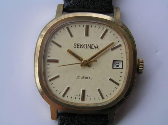 più amato 033f6 c218f Russo VINTAGE orologio POLJOT 17 jewels - servita