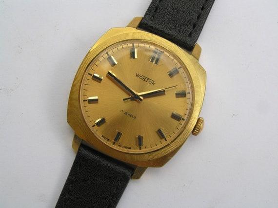 Reloj Vintage para Hombres URSS VOSTOK Servicio
