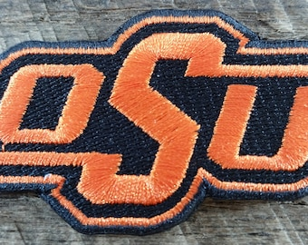 Oklahoma State University Embroidered Patches