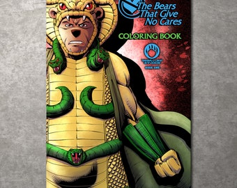 Bears That Give No Cares Coloring Book Serpentor Edition Limited to 100 - Free Shipping!