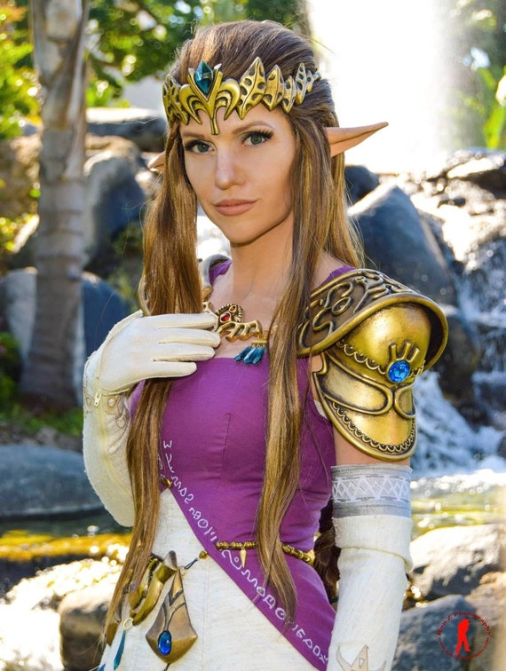 Princess Zelda Cosplay Crown Twilight Princess Free Domestic Shipping