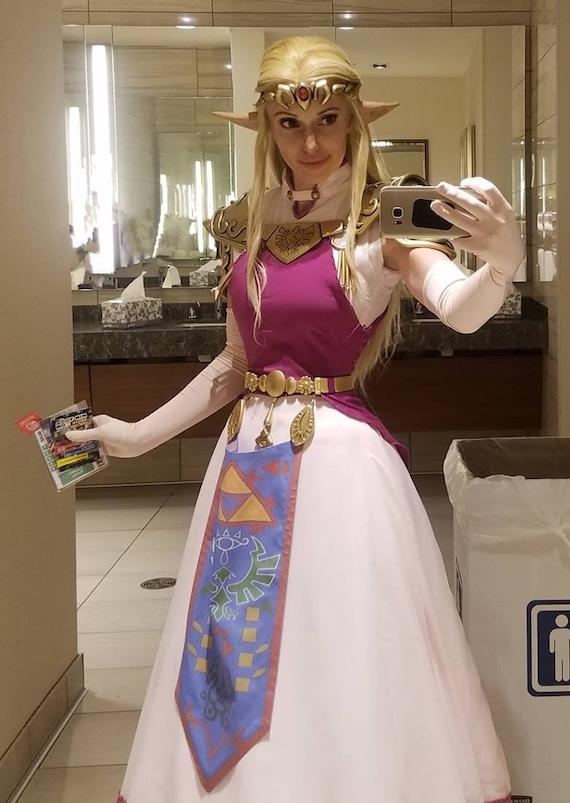 Zelda Cosplay Costume Ocarina Of Time Princess Zelda Crown Tiara