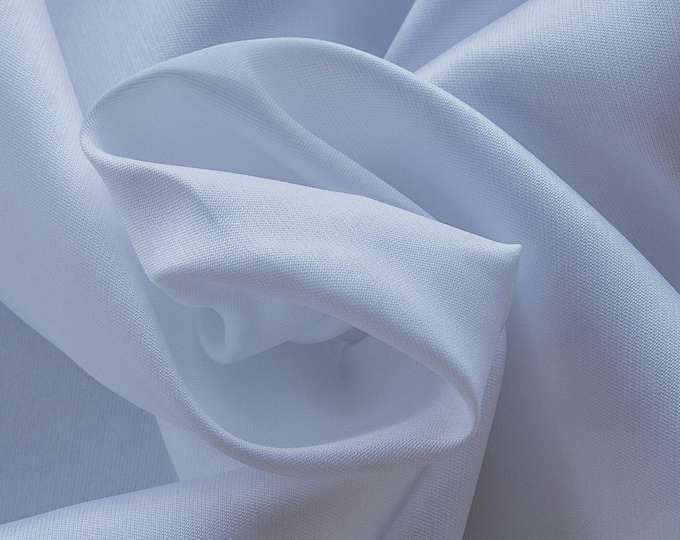 273001-Mikado-85% Polyester, 15 silk, 160 cm wide, made in Italy, dry washing, weight 160 gr, Price 0.25 meters: 12.95 Euros