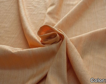 Rustica 453, Natural silk 100%, Width 135/140 cm, Dry wash, Weight 240 gr, Price 0.25 meters: 9.02 Euros