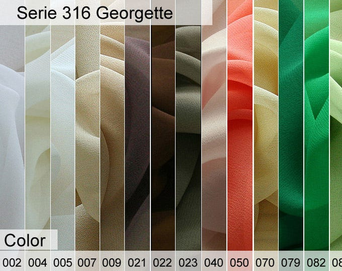 316 Georgette Sample 6x10 CM