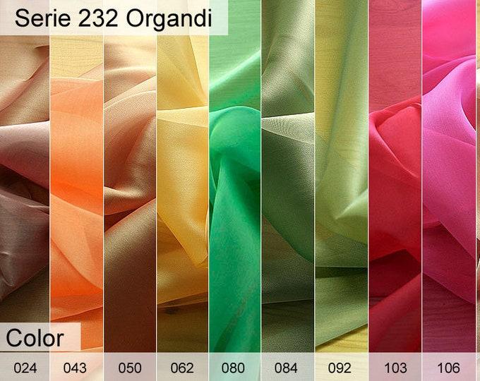 232 Organdi Cangiante 6x10 CM Sample