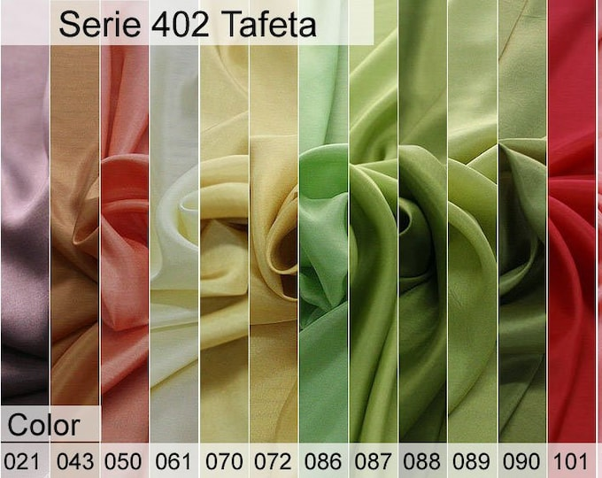 402 Taffeta Sample 6x10 CM