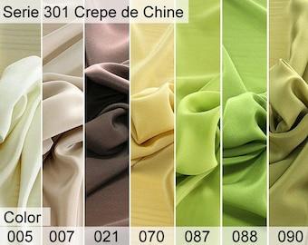 301 Chine Crepe 6x10 CM Sample