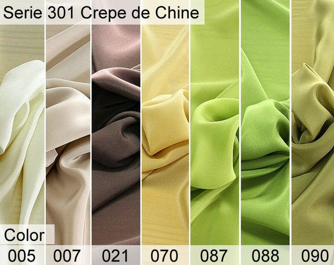 301 Chine Crepe 6x10 CM Sample
