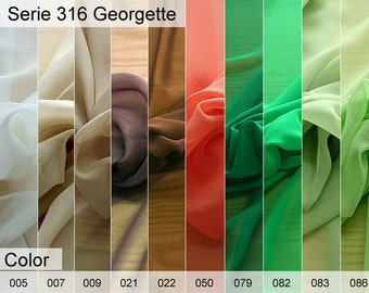 316 Georgette 6x10 CM Sample