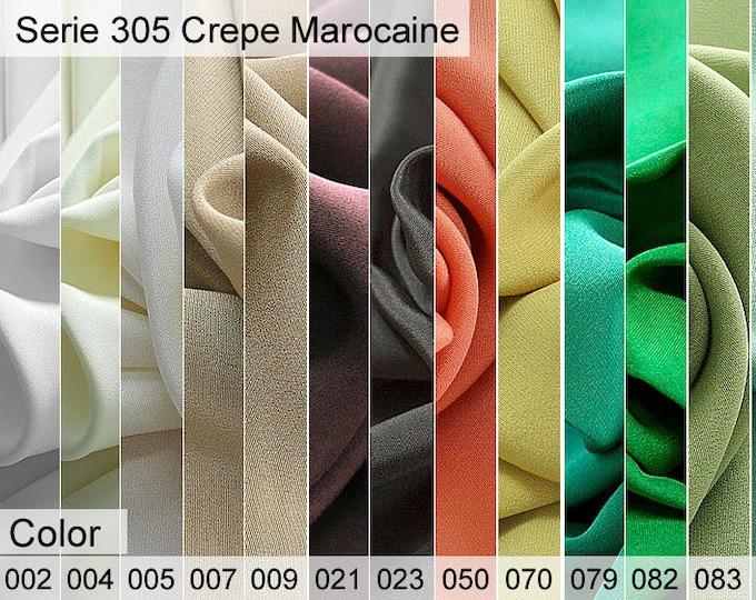 305 Crepe Marocaine Sample 6x10 CM
