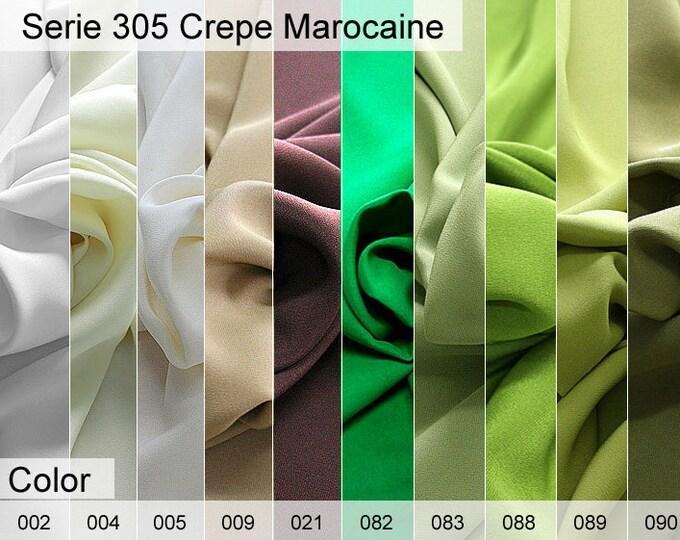 305 Crepe Marocaine 6x10 CM Sample