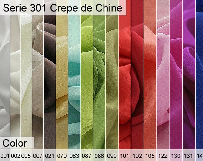 301 Crepe de Chine 6x10 CM