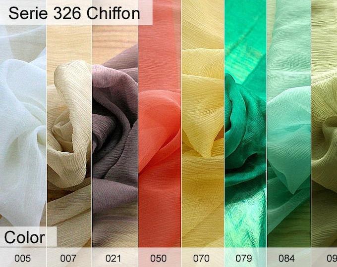 326 Chiffon 6x10 CM sample
