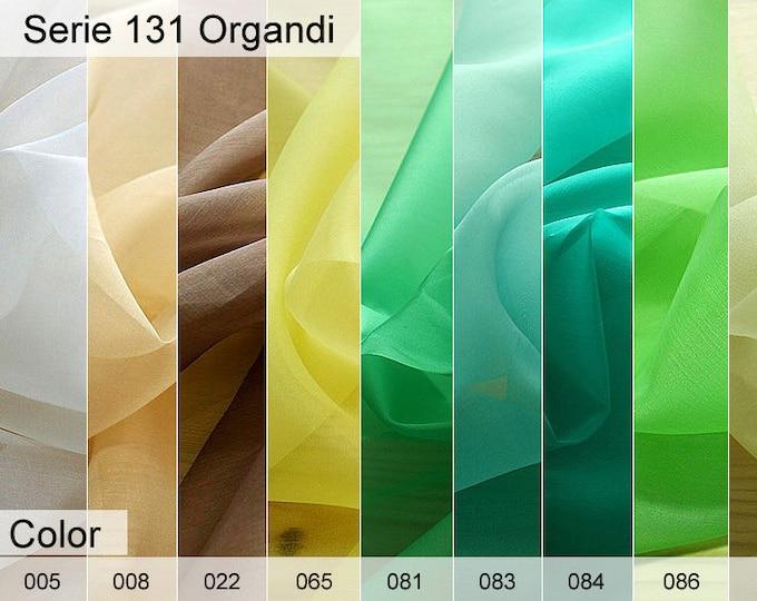 131 Organdi 6x10 CM Sample