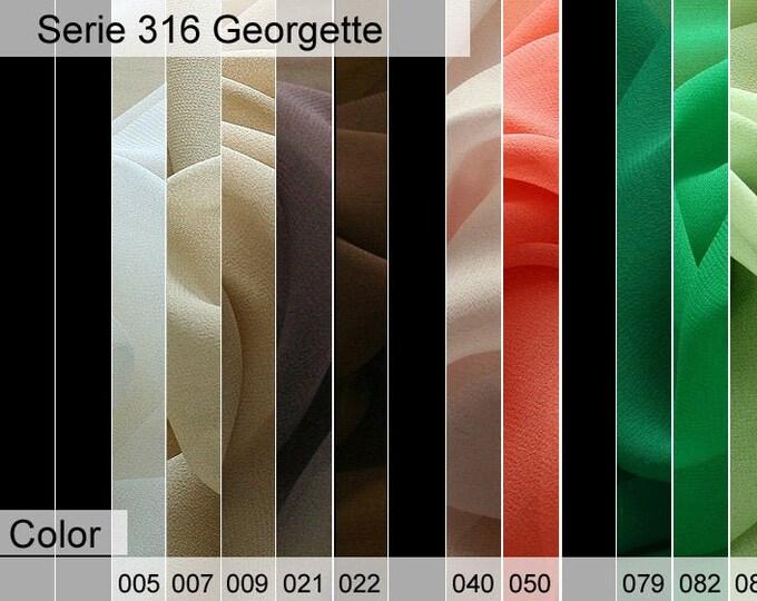 316 Georgette 6x10 CM Sample