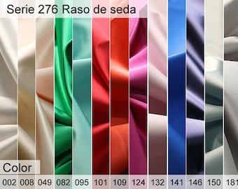 276 silk Satin Sample 6x10 CM