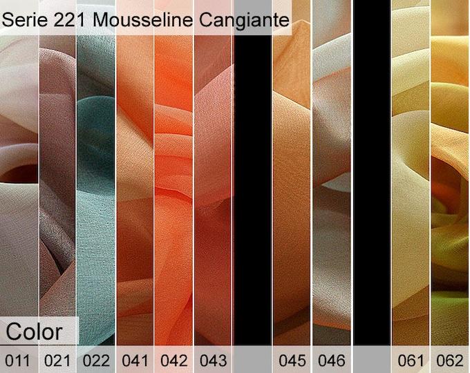 221 Mousseline Sample 6x10 CM