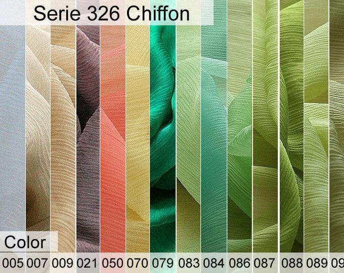 326 Chiffon Sample 6x10 CM