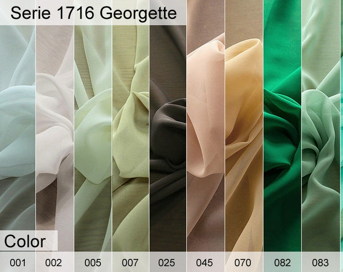 1716 Georgette 6x10 CM Sample