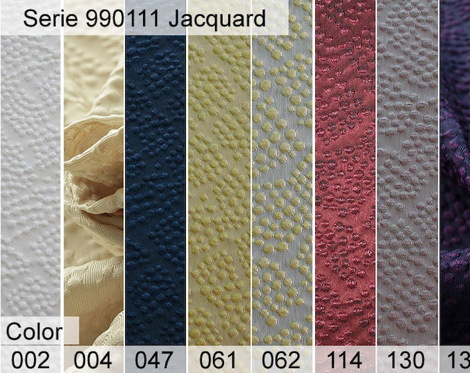 990111 Jacquard Sample 6x10 CM