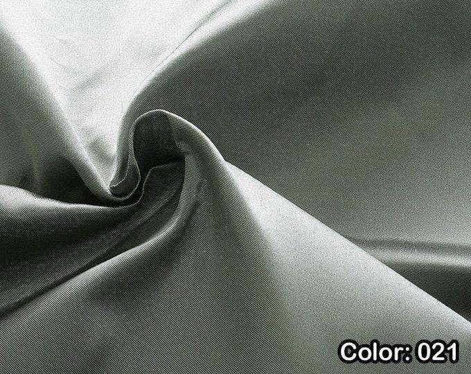 Mikado 871, Natural silk 100%, Width 135/140 cm, Dry wash, Weight 190 gr, Price 0.25 meters: 23.89 Euros