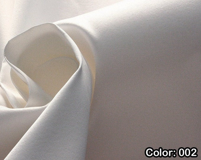 Mikado 272, 1st Part - Natural Silk 100%, Width 135/140 cm, Dry Wash, Weight 190 gr, Price 0.25 meters: 33.10 Euros