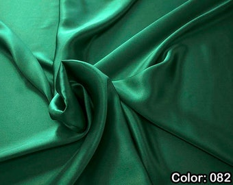 Crepe Satin 1712, 2nd Part - Natural Silk 100%, Width 135/140 cm, Dry Wash, Weight 100 gr, Price 0.25 meters: 14.72 Euros