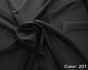 Georgette 1716, 3rd Part - Natural Silk 100%, Width 135/140 cm, Dry Wash, Weight 60 gr, Price 0.25 meters: 10.59 Euros