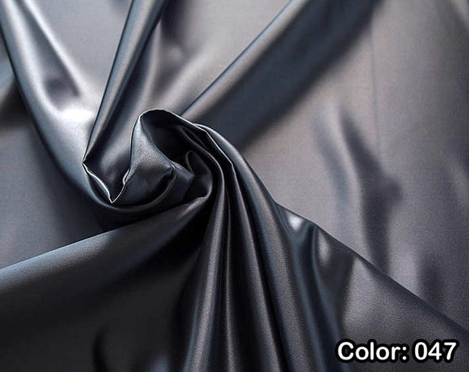 Raso 978, Part 2 - Polyester 100%, Width 150 cm, Dry wash, Weight 260 gr, Price 0.25 meters: 5.96 Euros