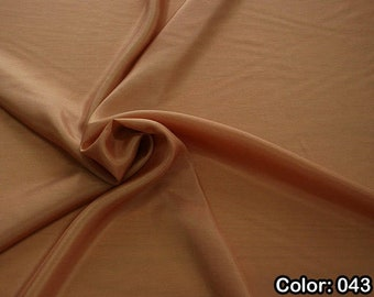 Taffeta 402, 1st Part - natural silk 100%, Width 110 cm, Dry wash, Weight 58 gr, Price 0.25 meters: 6.63 Euros