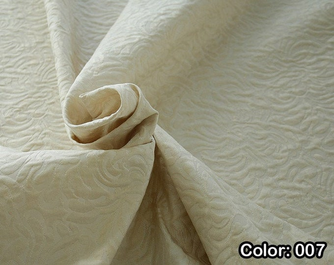 JACQUARD 990062, 1st Part - Co 53%, Pl 37, Pa 10, Width 140 cm, Dry wash, Weight 279 gr, Price 0.25 meters: 14.36 Euros