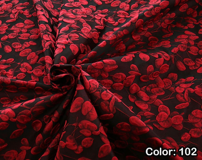 JACQUARD 990101, Part 2 - Co 63 %, Se 31, Pc 6, Width 140 cm, Dry wash, Weight 238 gr, Price 0.25 meters: 23.80 Euros