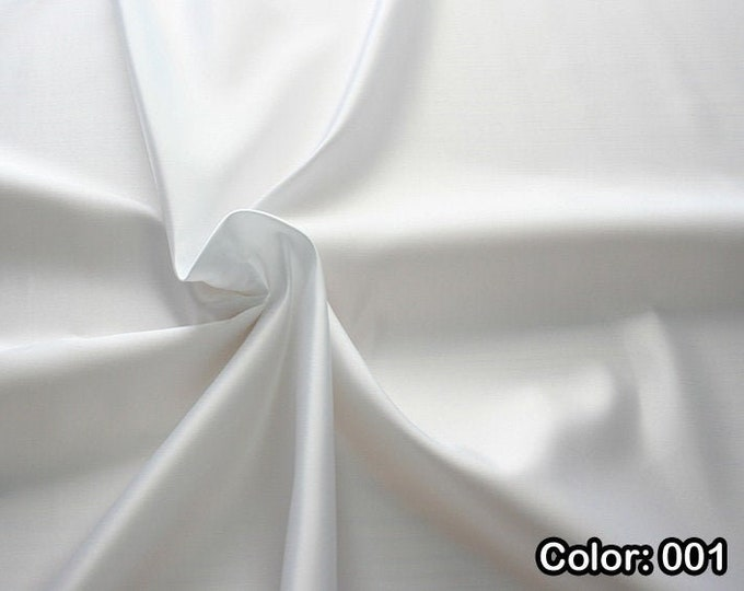 Raso 977, Polyester 100%, Width 140/150 cm, Dry wash, Weight 230 gr, Price 0.25 meters: 4.87 Euros