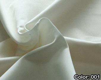 Shantung 236, 1st Part - Natural silk 100%, Width 135/140 cm, Dry wash, Weight 120 gr, Price 0.25 meters: 16.54 Euros