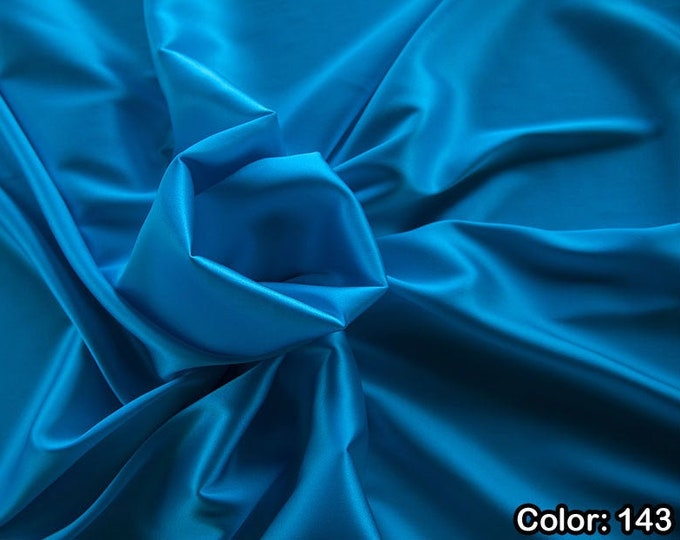 Crepé Satin 1713, 2nd Part - Silk 97%, 6ly Licra, Width 135 cm, Made in Italy, Weight 100 gr, Price 0.25 metres: 14.72 Euros