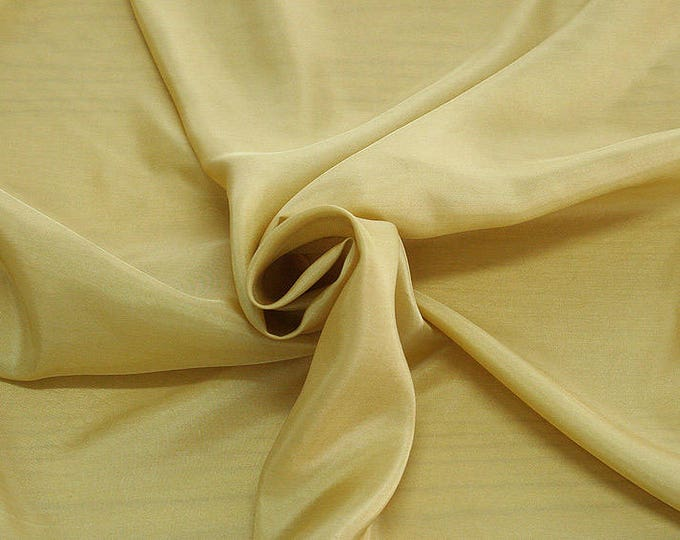 402072-taffeta, natural silk 100%, wide 110 cm, made in India, dry washing, weight 58 gr, Price 0.25 meters: 6.63 Euros