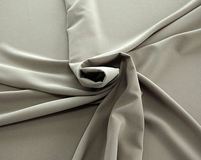 905010-Crepe 100% Polyester, 150 cm wide, made in Italy, dry washing, weight 306 gr, Price 0.25 meters: 8.14 Euros