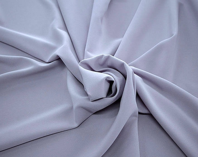 905209-Crepe 100% Polyester, 150 cm wide, made in Italy, dry washing, weight 306 gr, Price 0.25 meters: 8.14 Euros