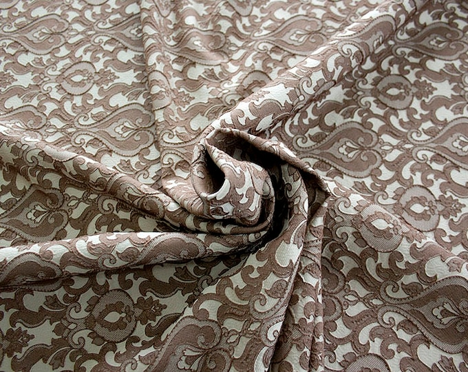990071-022 Brocade-95% PL, 5 PA, 130 cm wide, made in Italy, dry washing, weight 205 gr, Price 0.25 meters: 13.74 Euros