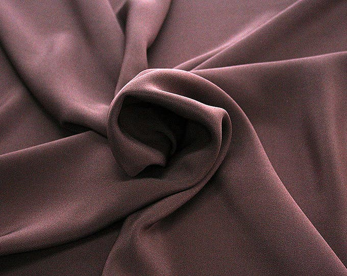 305021-Crepe marocaine, natural silk 100%, wide 130/140 cm, dry washing, weight 215 gr, Price 0.25 meters: 26.09 Euros
