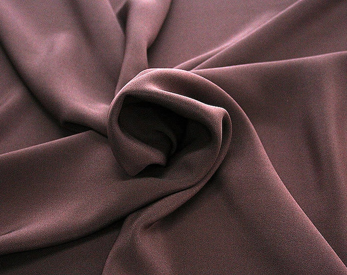 305021-Crepe marocaine Natural Silk 100%, wide 130/140 cm, made in Italy, dry cleaning, weight 215 gr, price 1 meter: 104.36 Euros