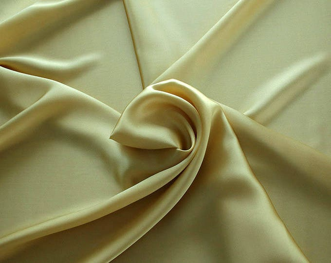1712-070-Crepe Satin, natural silk 100%, wide 135/140 cm, made in Italy, dry washing, weight 100 gr, price 0.25 meters: 14.72 Euros