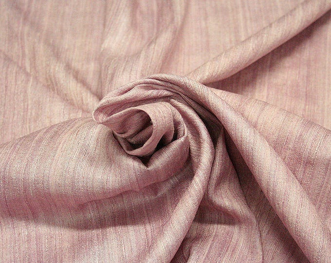 453131-Rustica, natural silk 100%, width 135/140 cm, dry washing, weight 240 gr, price 0.25 meters: 9.02 Euros