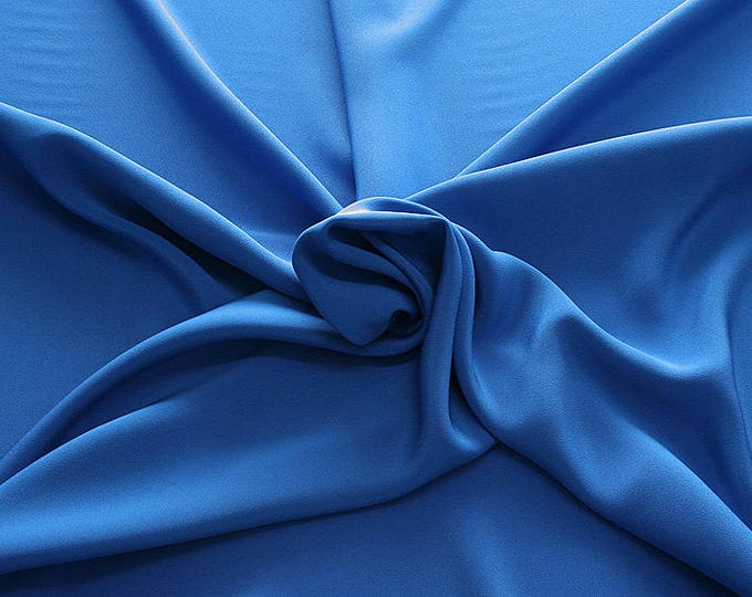305142-Crepe marocaine, natural silk 100%, wide 130/140 cm, dry washing, weight 215 gr, Price 0.25 meters: 26.09 Euros
