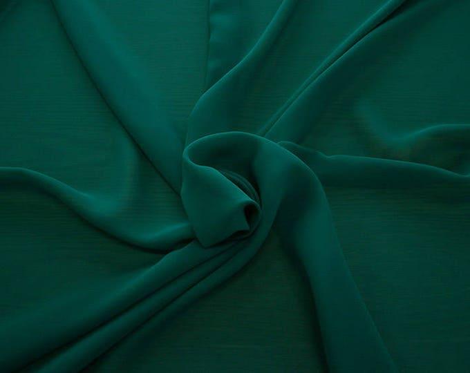 1716-079-Georgette, natural silk 100%, wide 135/140 cm, dry wash, weight 60 gr, Price 0.25 meters: 10.59 Euros