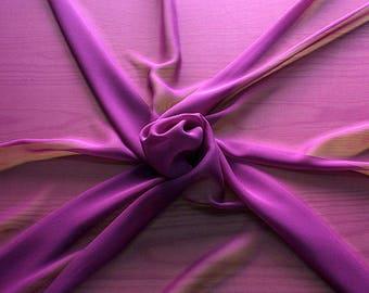 316138-Georgette, natural silk 100%, wide 135/140 cm, dry wash, weight 50 gr, price 0.25 meters: 9.08 Euros