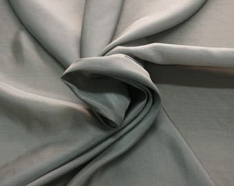 402186-taffeta natural silk 100%, wide 110 cm, made in India, dry cleaning, weight 58 gr, price 1 meter: 26.50 Euros